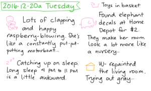 2016-12-20a Tuesday #daily #journal