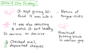 2016-12-23a Friday #daily #journal
