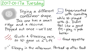 2017-01-17a Tuesday #daily #journal