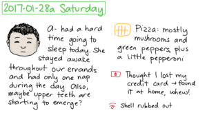 2017-01-28a Saturday #daily #journal