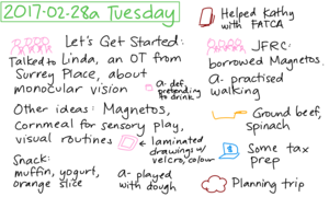 2017-02-28a Tuesday #daily #journal