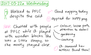 2017-03-22a Wednesday #daily #journal