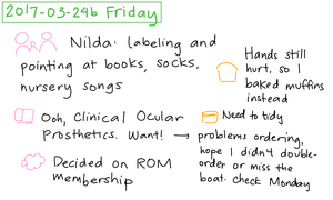 2017-03-24b Friday #daily #journal