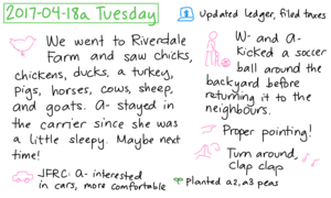 2017-04-18a Tuesday #daily #journal