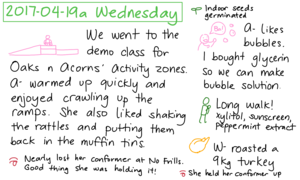 2017-04-19a Wednesday #daily #journal