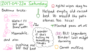 2017-04-22a Saturday #daily #journal
