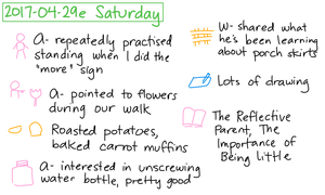2017-04-29e Saturday #daily #journal