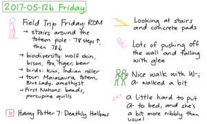 2017-05-12b Friday #daily #journal