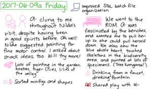 2017-06-09a Friday #daily #journal