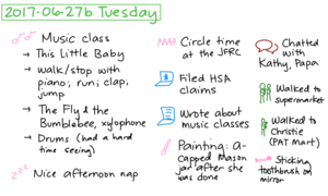2017-06-27b Tuesday #daily #journal