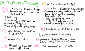 2017-07-04b Tuesday #daily #journal