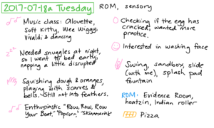 2017-07-18a Tuesday #daily #journal